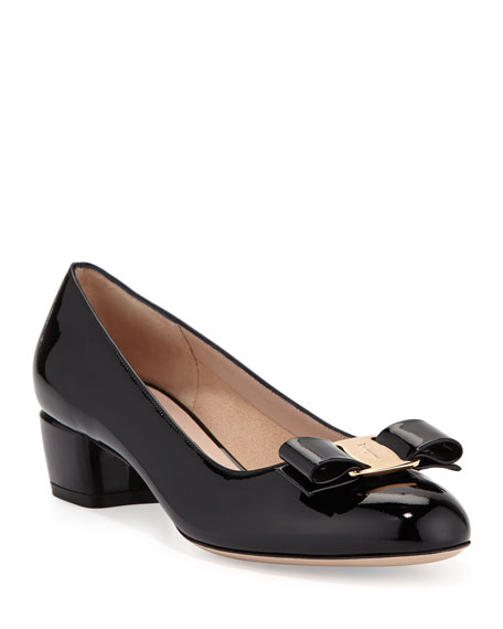 Vara Bow leather pumps Salvatore Ferragamo lvlTIo