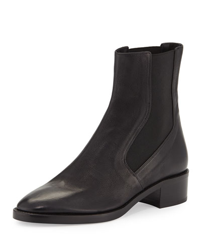 Carrington Leather Chelsea Boot, Black