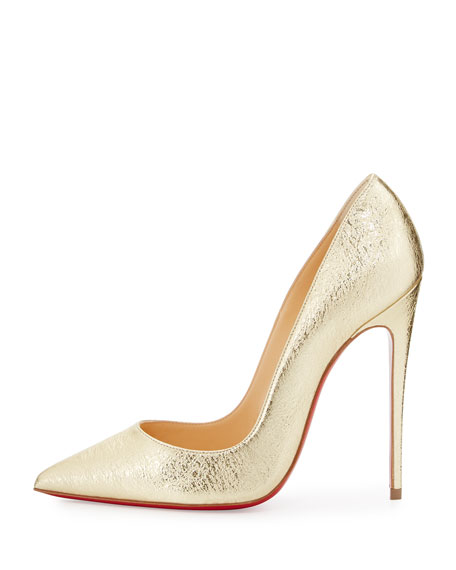 christian louboutin low heel shoes