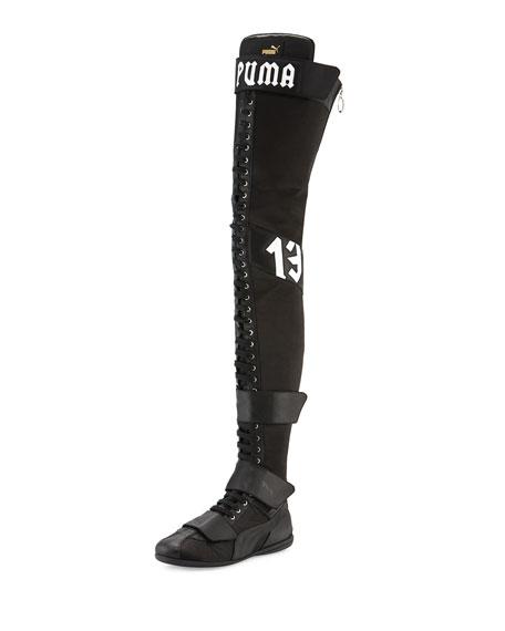Fenty Puma By Rihanna Eskiva Over The Knee Boxing Boot