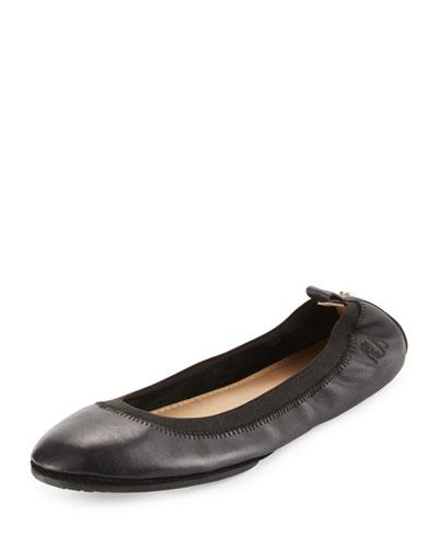 Samara 2.0 Packable Ballerina Flat, Black