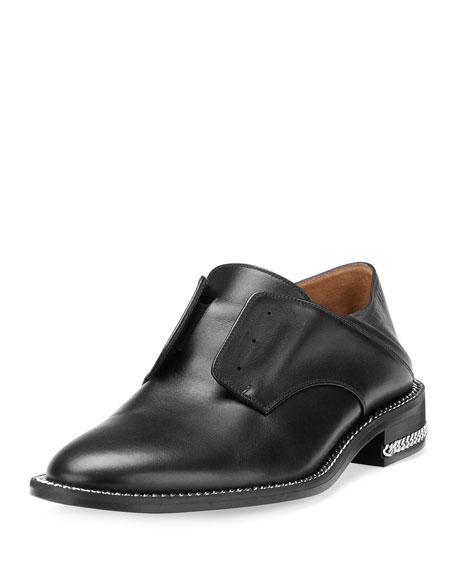 Laceless Oxford Mule Slide, Black