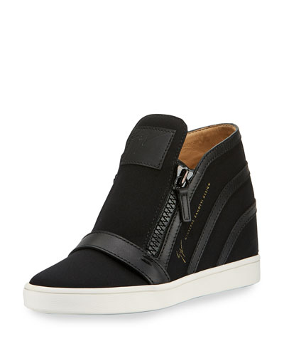 c95cc38fa8 Giuseppe Zanotti Soma Hidden-Wedge High-Top Sneaker