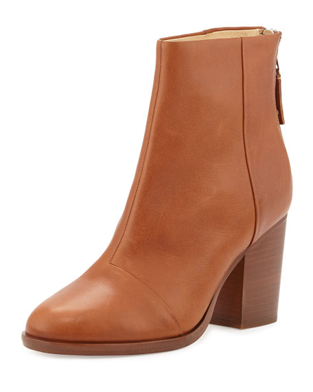 Rag & Bone Ashby Leather Ankle Boot, Tan
