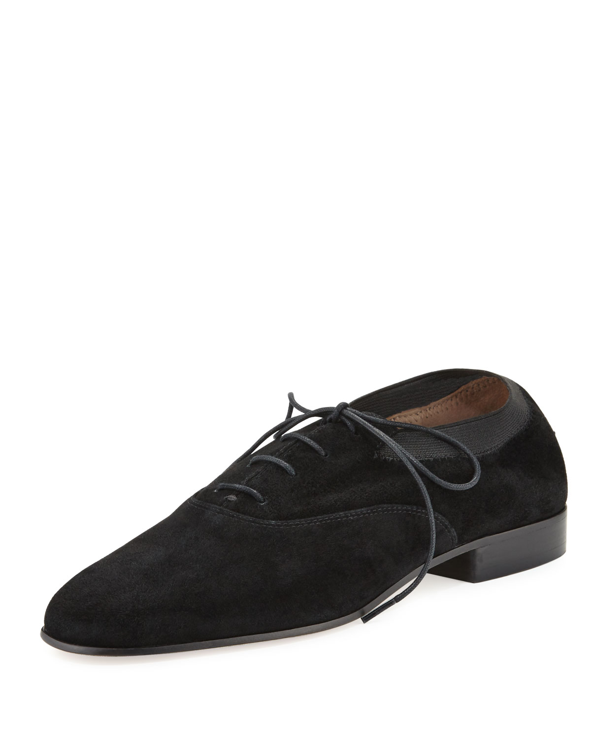 a154329eb98a Tory Burch Bombe Suede Oxford