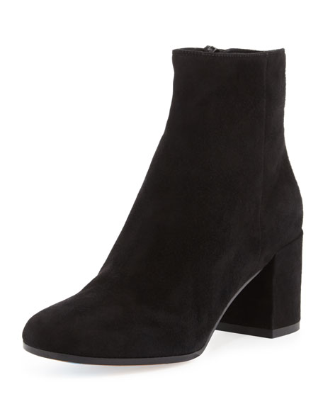 VINCE BLAKELY SUEDE ANKLE BOOT, STEEL