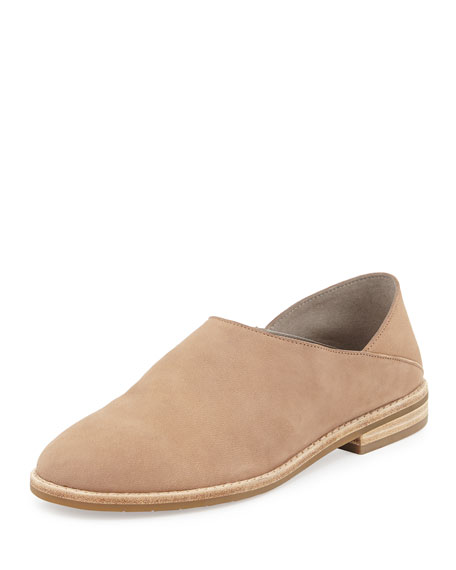 Eileen Fisher Depan Nubuck Loafer, Neutral