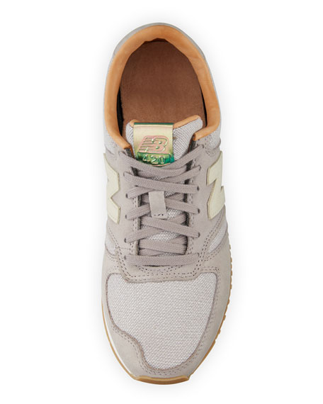 420 Mesh Low-Top Sneaker, Gray