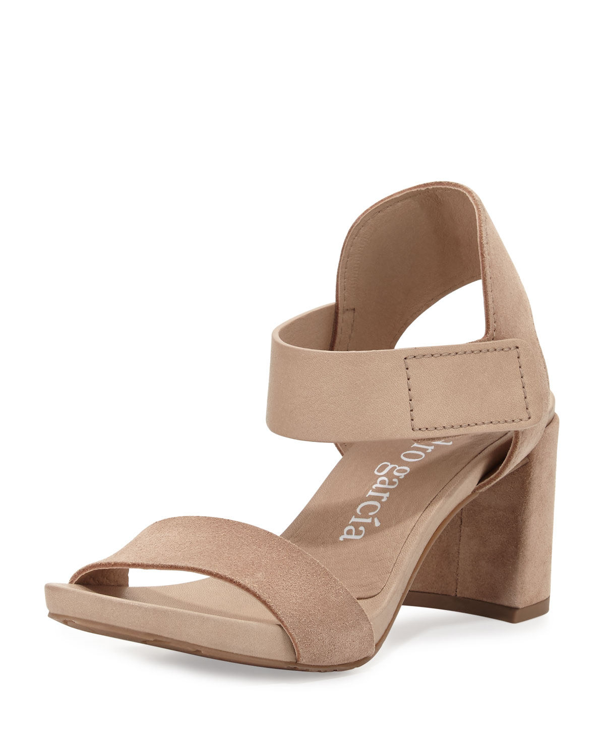 be3d6a1bdf49 Pedro Garcia Willa Suede   Leather City Sandal