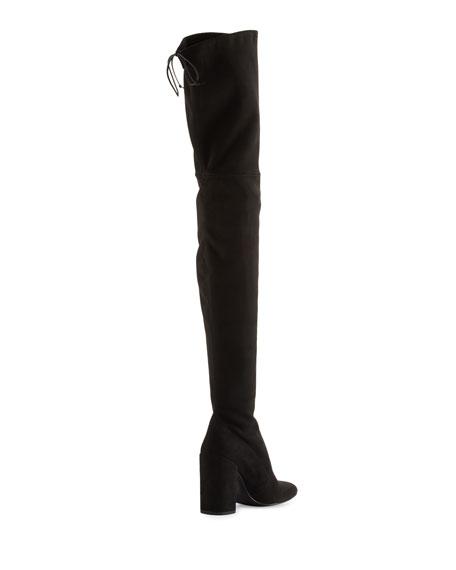 Alllegs Ultrastretch Over-the-Knee Boot, Noir