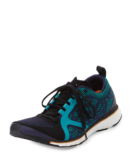 Adizero Adios Knit Sneaker, Blue