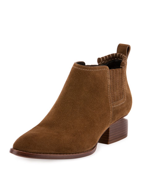 Alexander Wang Designer Shoes, Kori Stretch Leather Booties