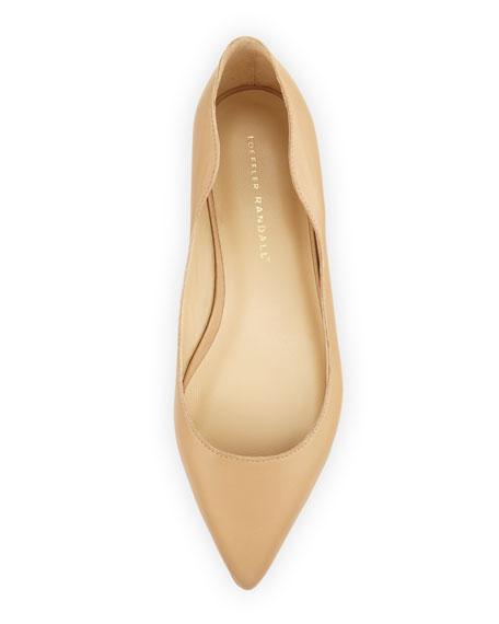 Milla Wavy Pointed-Toe Flat