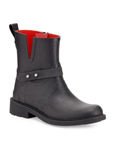 Moto Rubber Rain Boot