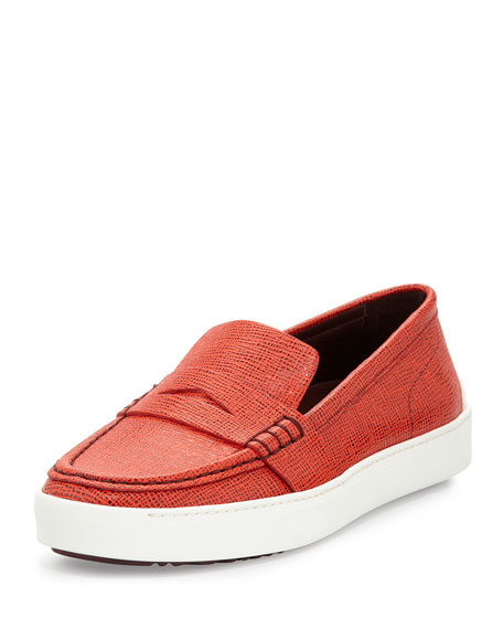 Rag & Bone Colby Bicolor Saffiano Leather Sneaker