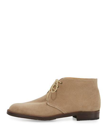 gravati flat suede chukka boot