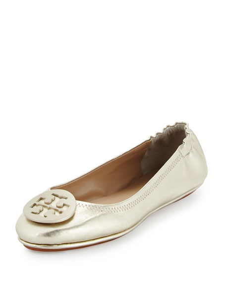Tory Burch MINNIE LOGO TRAVEL BALLET