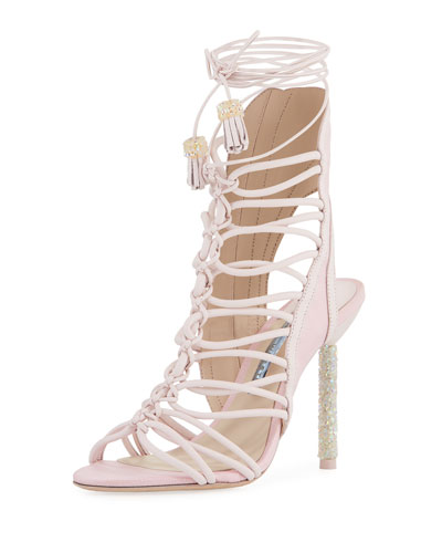 Lacey Crystal Bridal Sandals