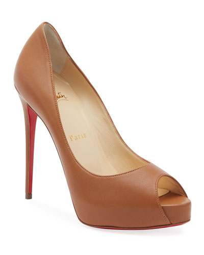 New Very Prive Patent Red Sole Pumps
