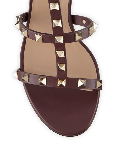 Valentino Garavani Rockstud Leather 60mm City Sandals