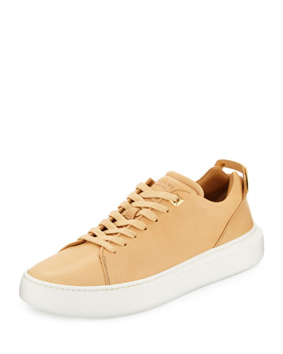 Women's 50mm Leather Low-Top Sneaker
