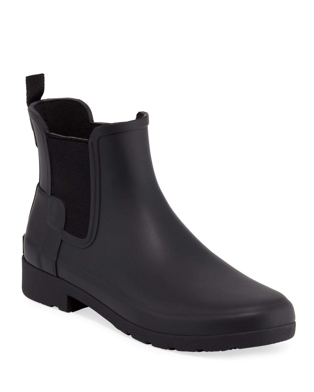 original-refined-chelsea-rain-boots by hunter-boot