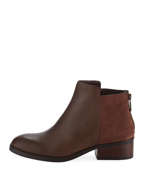Elion Grand.OS Leather & Suede Bootie