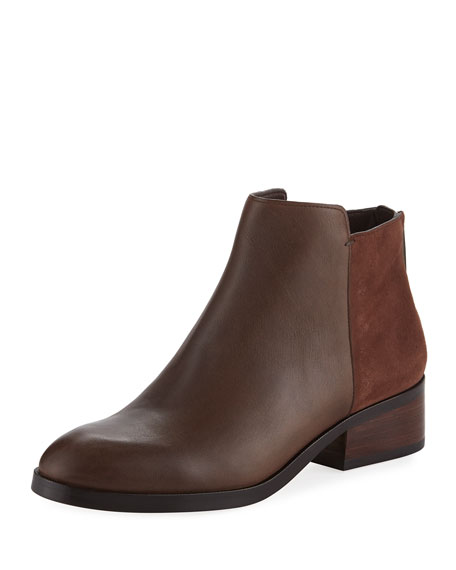 Cole Haan Elion Grand.OS Leather & Suede Bootie
