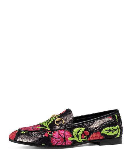 New Jordaan Brocade Horsebit Loafer, Floral