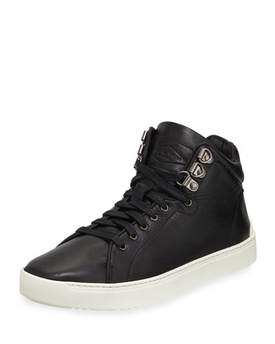 Rag & Bone Kent Leather Platform High-Top Sneaker