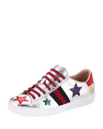 Ace Metallic Star Sneaker