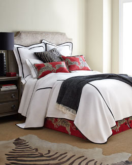 Scalamandre Maison by Eastern Accents Le Zebre Bed Linens