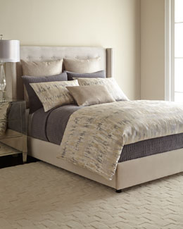 Fino Lino Linen & Lace Manhattan Bedding