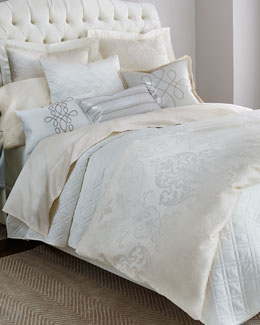 Eastern Accents Ecru Ornato Bedding
