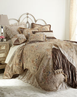 "Dian Austin Couture Home ""French Chantilly"" Bedding"