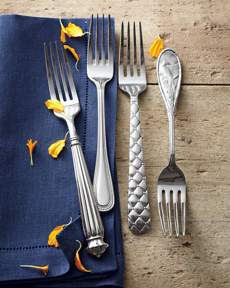 5-Piece Japanese Bird Flatware Place Setting