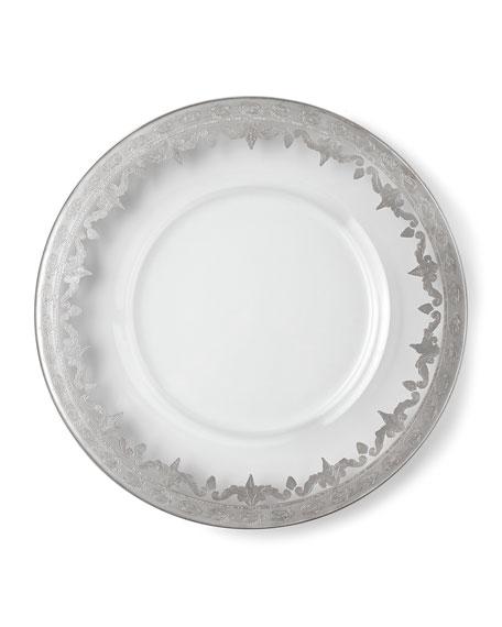 Vetro Silver Dinner Plate