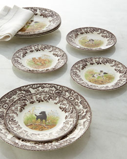 Spode Woodland Hunting Dog Dinnerware