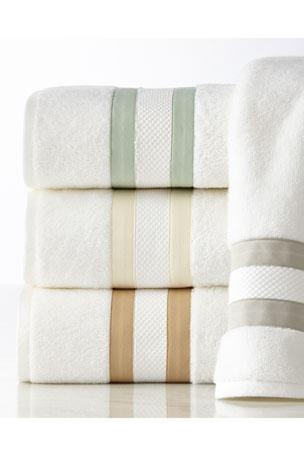 Matouk Marlowe Bath Towel Marlowe Hand Towel