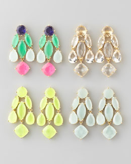 kate spade new york crystal statement earrings