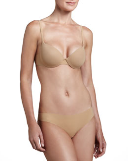 La Perla Invisible Contour Bra & High-Cut Briefs