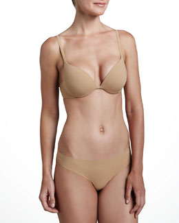La Perla Invisible Push-Up Plunge Bra &  Thong