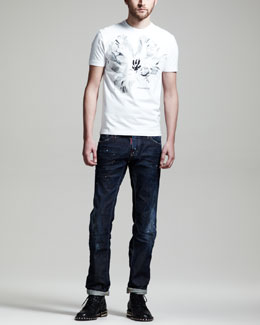 DSquared2 Relaxed Fit Short-Sleeve Tee & Slim Jeans