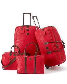 Bric's Geranium Safari Luggage