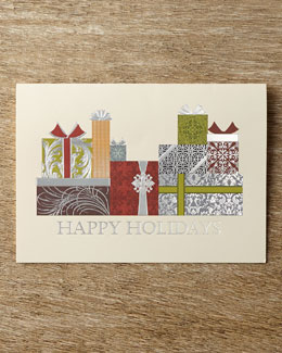 Carlson Craft Packages Galore Christmas Cards