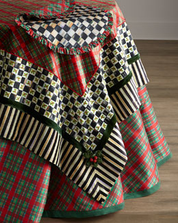 MacKenzie-Childs Holiday Tartan Table Linens