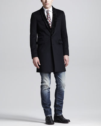 Shawl-Collar Tokyo Coat, Dean & Dan Stretch Poplin Shirt, Slightly ...