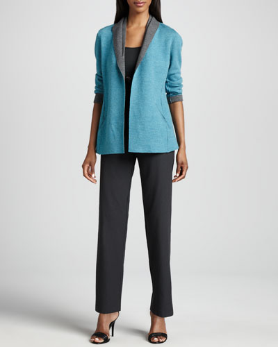 Eileen Fisher Felted Merino Jacket, Slim Tank & Straight-Leg Pants
