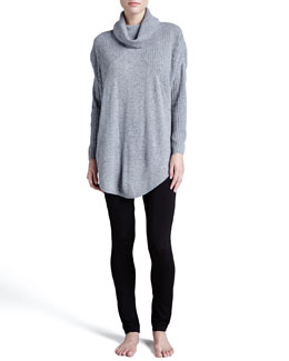 Donna Karan Cashmere-Blend Poncho & Leggings