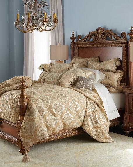 King Florentine Brocade Duvet Cover